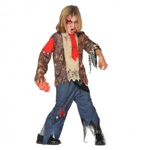 Disfraz de Zombie Maldito para niño