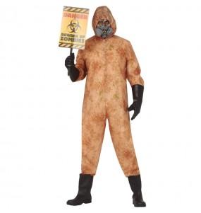 Disfraz de Zombie nuclear para hombre