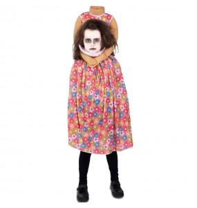 Disfraz de Zombie sin cabeza para niña