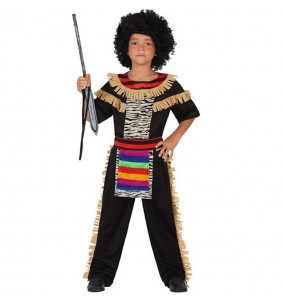 Disfraz de Zulú Niño