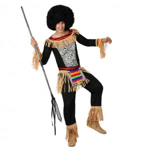 Disfraz de Zulú para hombre