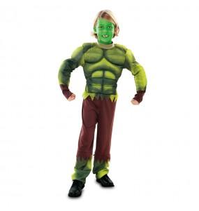 Disfraz del Increible Hulk para niño