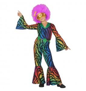 Disfraz Disco Retro para niña