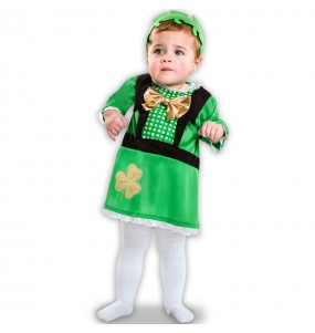 Disfraz de Bebé San Patricio niña