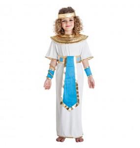 Disfraz de Egipcia azul para niña