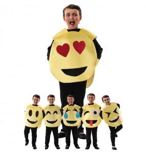 Disfraz de Emoticono Whatsapp para niños