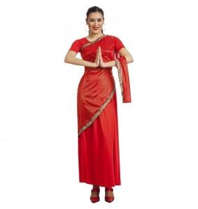 Disfraz Estrella Bollywood para mujer