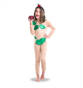 Disfraz de Eva Paraíso para niña
