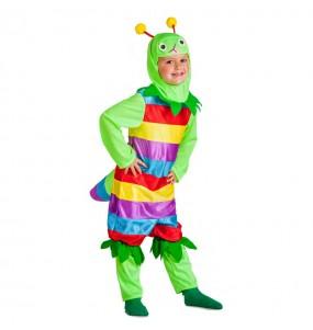 Disfraz de Gusanito multicolor para niño