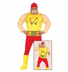 Disfraz de Hulk Hogan Adulto