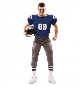 Disfraz Jugador Fútbol Americano Super Bowl adulto
