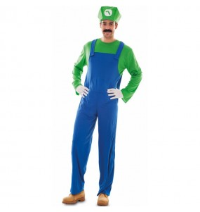 Disfraz de Luigi para adulto