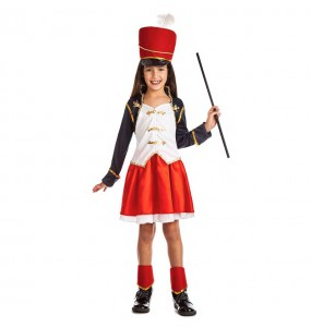 Disfraz de Majorette Soldado para niña
