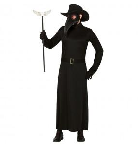 Disfraz de Médico la Peste Negra para hombre