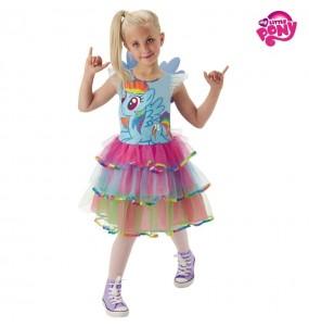 Disfraz My Little Pony Rainbow para niña