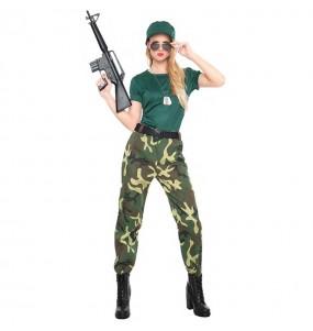 Disfraz de Paramilitar para mujer