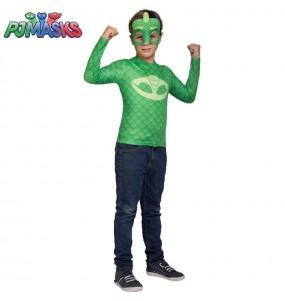 Disfraz PJ Masks Gekko para niño