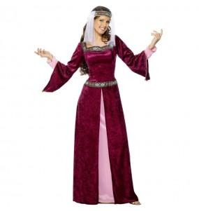 Disfraz de Princesa Medieval Lady Marian para mujer