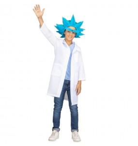 Disfraz de Rick y Morty para niño