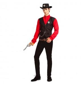 Disfraz de Sheriff del Condado para hombre