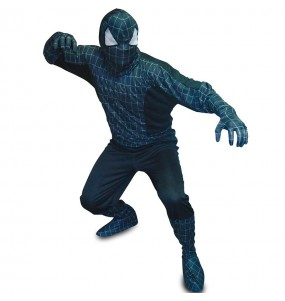 Disfraz Spider Hero Negro adulto