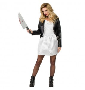 Disfraz de Tiffany Novia de Chucky mujer