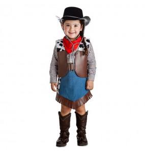 Disfraz de Vaquera Salvaje Oeste para niña