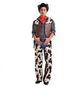 Disfraz de Vaquero Salvaje Oeste para hombre