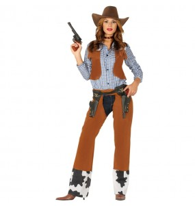 Disfraz de Vaquera Rodeo para mujer