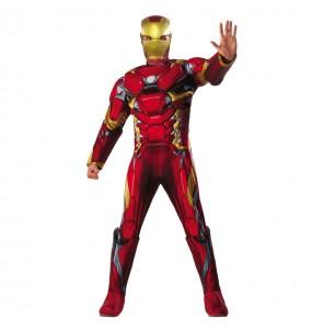 Disfraz de Iron Man Civil War para hombre - Marvel®