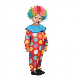 Disfraz de Payasito Multicolor bebé