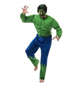 Disfraz del Increíble Hulk para adulto