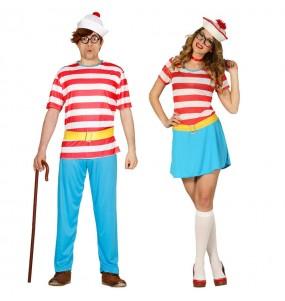 Pareja Dónde esta Wally