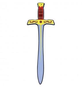 Espada Rey Medieval de goma eva para niños