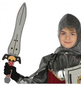 Espada Soldado Medieval de goma eva para niños