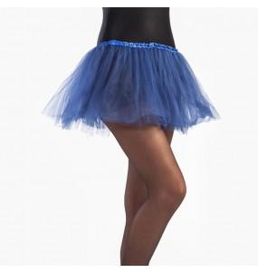 Falda tutú azul oscuro niña
