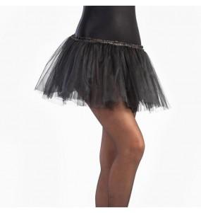 Falda tutú negro niña