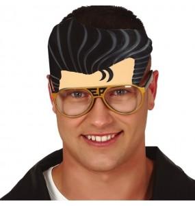 Gafas con tupé Elvis Presley