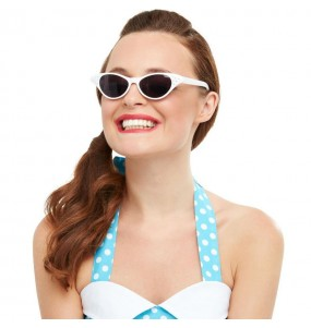 Gafas Grease Blancas