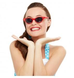 Gafas Grease Rojas