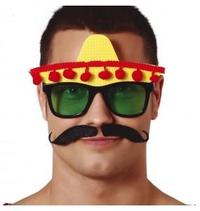 Gafas Mexicano con Sombrero