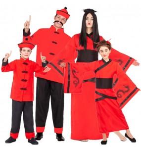 Grupo de Chinos Dragón Rojo