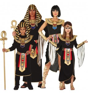 Grupo de Egipcios Negros