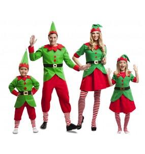 Grupo Elfos Navidad Santa Claus