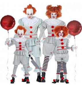 Grupo de Payasos It Pennywise