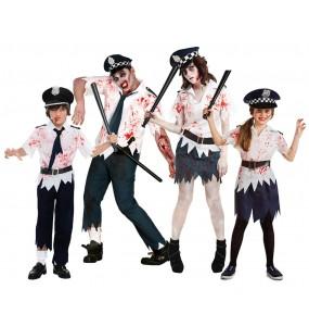Grupo Policías Zombies