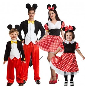 grupo disfraces ratoncitos