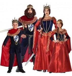 Grupo de Reyes Medievales Rojos