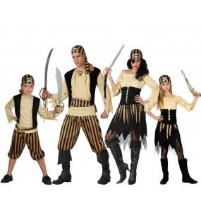 Grupo Disfraces de Piratas