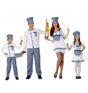Grupo Disfraces de Cocineros
